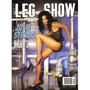 Leg Show Magazine April 1996 Julie Srrain: LEG SHOW: Books