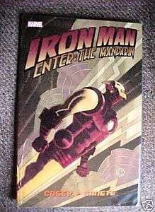 IRON MAN ENTER THE MANDARIN TRADE PAPERBACK BOOK
