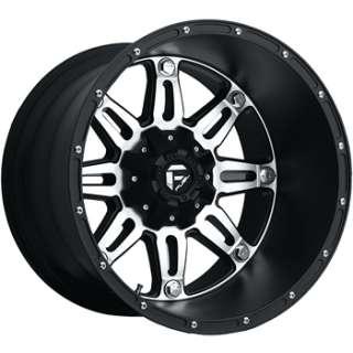 20x14 Machined Black Wheel Fuel Hostage 6x135 6x5.5