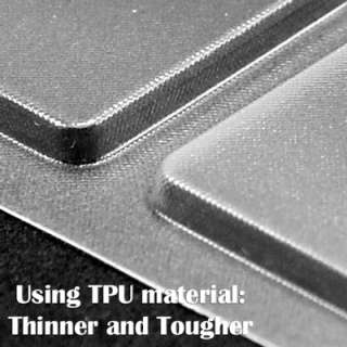 Aqua Blue Crystal Hard Case for Macbook Air 13+Transparent TPU