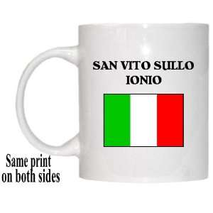 Italy   SAN VITO SULLO IONIO Mug: Everything Else