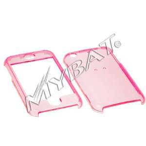 On Faceplate Cover Case Apple iPhone   CLEAR PINK