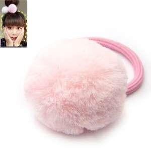 A0350 Korean Style Cutie Rose Ball Shape Hair Tie Band