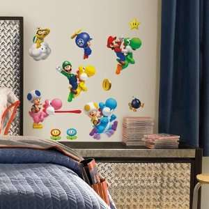 New Super Mario Bros. Wii Wall Decals In Roommates: Home