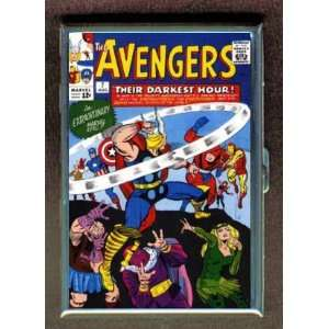AVENGERS 7 1960s THOR IRON MAN ID Holder, Cigarette Case