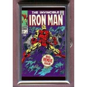 Iron Man #1 Superhero Comic Coin, Mint or Pill Box Made in USA