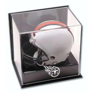 Tennessee Titans Wall Mounted Mini Helmet Cube Logo