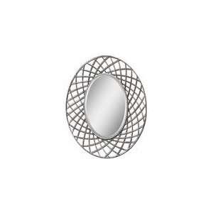 Uttermost Burnished Silver Leaf Janela Mirror