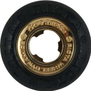 Ricta Lutzka All Star 51mm Black Gold Chrome Skate Wheels
