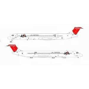 Jet X JAL Express JEX MD 81 Model Airplane Everything