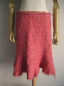 JUNYA WATANABE PINK TWEED skirts Comme des Garcons Yohji TAO LIMI feu