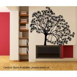 Vinyl Wall Decal Sticker Lopsided Tree size 60inX65in item