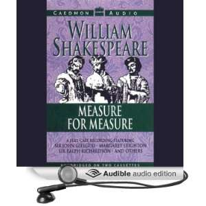Measure for Measure (Audible Audio Edition) William
