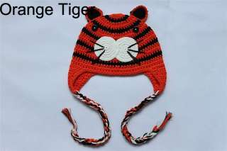 Cute Knit Hat Cap Baby Child Girls Boys Photograph New Tiger Chick