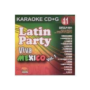 Karaoke CD+G Latin Party, Viva Mexico Vol.1 (11) Music