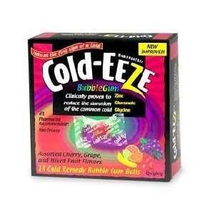 Cold Eeze Cold Remedy Bubblegum Balls 18 Count Health
