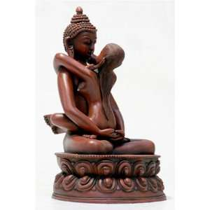 Buddha Shakti,Large 8.25H Statue Sculpture Home