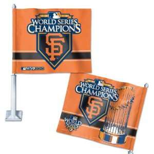 San Francisco Giants 2010 World Series Champions Car Flag