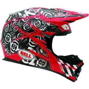 Bell Vibe Mens MX 2 Dirt Bike Motorcycle Helmet   Red