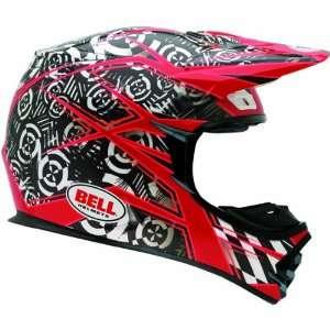 Bell Vibe Mens MX 2 Dirt Bike Motorcycle Helmet   Red