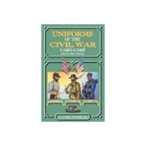 Uniforms of the Civil War Playing Cards Toys & Games