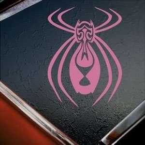 Tribal Spider Pink Decal Car Truck Bumper Window Pink
