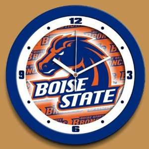NCAA Boise State Broncos Dimension Wall Clock