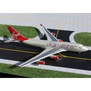 Gemini Jets Virgin Atlantic B747 400 Model Airplane Toys