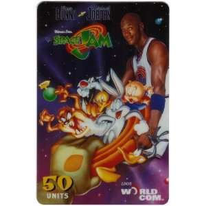 50u Michael Jordan & Bugs Bunny Space Jam Movie JUMBO