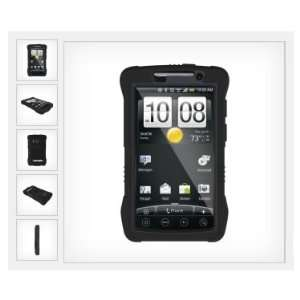 HTC EVO 4G Kraken Impact Resistant Case   Black   TRI KKN