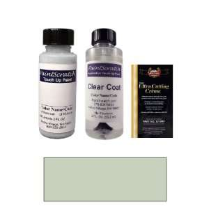 2 Oz. Clear Water Blue Metallic Paint Bottle Kit for 2011