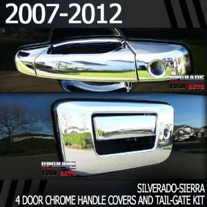 2007 2012 Chevy Avalanche Chrome Door Handles + Chrome