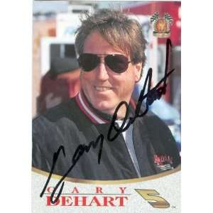 Gary DeHart Autographed/Hand Signed Trading Card (Auto