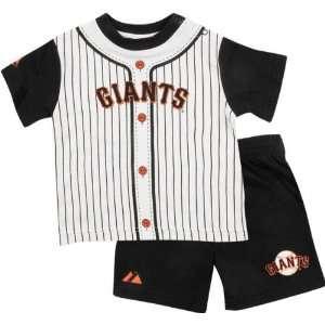 San Francisco Giants Toddler Pinstripe Short Set Sports