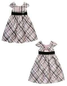 New Gymboree Girls Tres Fabulous Plaid Holiday Dress 12