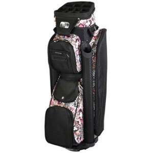 RJ Sports Ladies Boutique Cart Golf Bags   Black Pink