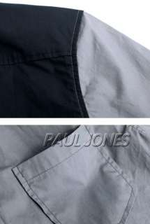 PAUL JONE Mens Designer Slim Premium Casual Shirts Tops US:XS~L Best