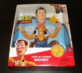Toy Story Talking Lots o of Laughs Woody Doll Figure