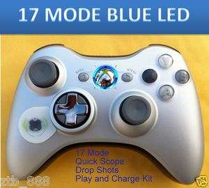 MW3 17 MODE XBOX 360 RAPID FIRE MODDED CONTROLLER PLAY AND CHARGE KIT