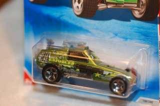 2010 Hot Wheels Enforcer Military Race World Green