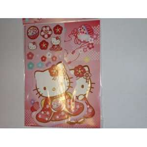 Hello Kitty Coloring Book and Stickers Toys & Games