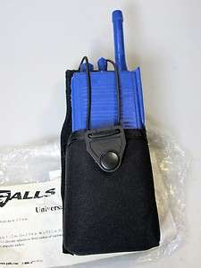G979 GALLS Universal Nylon Police Fire Citizen Band Radio Case 1.5 x 2