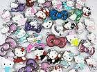20 pcs wholesale lot mixed hello kitty enamel pendants alloy