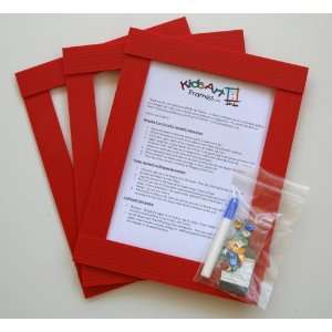 Kids Art Frames   Jewel Frames   Decorate Your Own Red