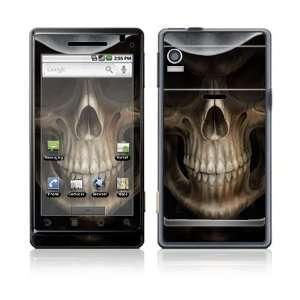 Motorola Droid Skin Decal Sticker   Skull Dark Lord