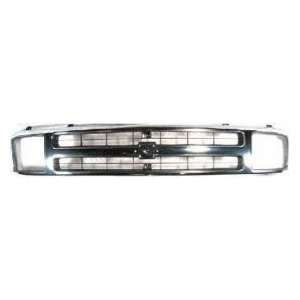 CV07095GA TY5 Chevy S10 Blazer Chrome Replacement Grille Automotive