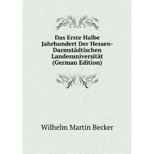 Das Erste Halbe Jahrhundert Der Hessen Darmstädtischen