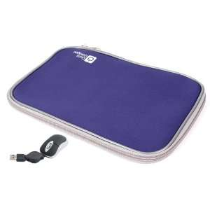 Laptop Zip Case With USB Mini Mouse (Fits Acer Aspire S3, Apple