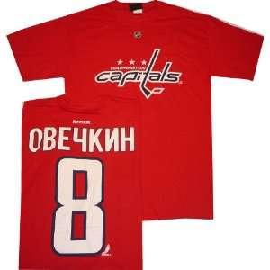 Alexander Ovechkin Language Barrier Red T Shirt