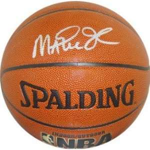 Magic Johnson Autographed/Hand Signed NBA Spalding I/O Basketball